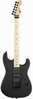Charvel® USA Select San Dimas® Style 1 HSS FR, Maple Fingerboard, Pitch Black