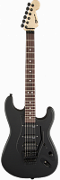 Charvel® USA Select So-Cal HSS FR, Rosewood Fingerboard, Pitch Black